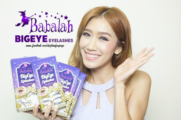 Lông mi giả Babalah Big Eye Eyelash
