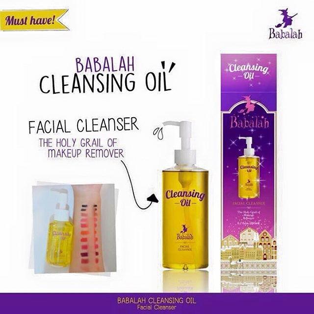 Tẩy trang Babalah Cleansing Oil
